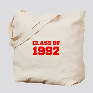 CLASS OF 1992-Fre red 300 Tote Bag