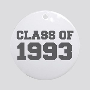 CLASS OF 1993-Fre gray 300 Ornament (Round)
