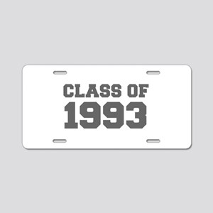 CLASS OF 1993-Fre gray 300 Aluminum License Plate