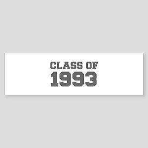 CLASS OF 1993-Fre gray 300 Bumper Sticker