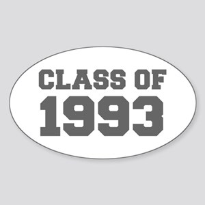 CLASS OF 1993-Fre gray 300 Sticker