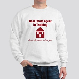 Real Estate Agent in Training Sweatshirt