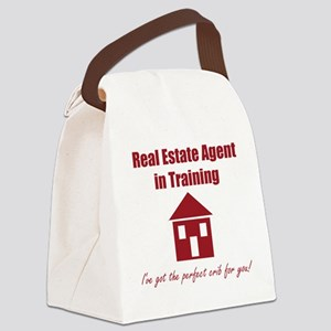 Real Estate Agent in Training Canvas Lunch Bag
