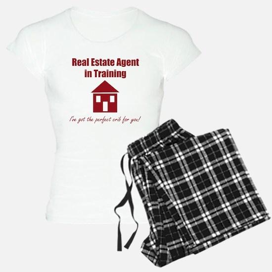 Real Estate Agent in Traini Pajamas