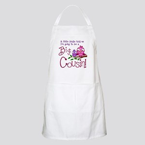 I'm going to be a Big Cousin! Apron
