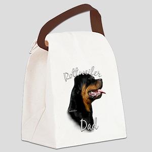 RottieDad Canvas Lunch Bag
