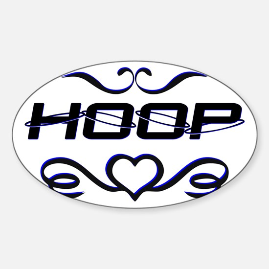 Hula Hoop - Hoop Love Decal