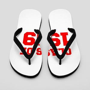 CLASS OF 1999-Fre red 300 Flip Flops