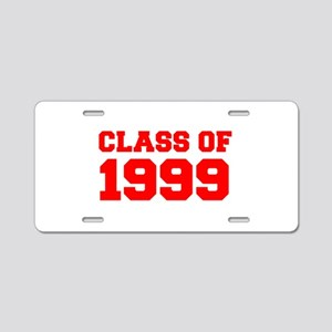 CLASS OF 1999-Fre red 300 Aluminum License Plate