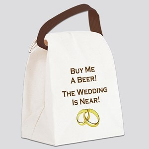 BUY ME A BEER! Canvas Lunch Bag