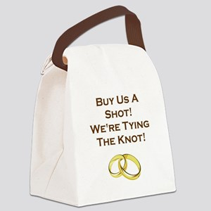 BUY US A SHOT! Canvas Lunch Bag