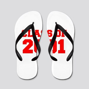 CLASS OF 2001-Fre red 300 Flip Flops