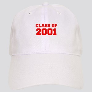 CLASS OF 2001-Fre red 300 Baseball Cap