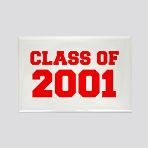 CLASS OF 2001-Fre red 300 Magnets