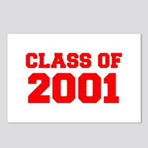 CLASS OF 2001-Fre red 300 Postcards (Package of 8)