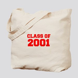 CLASS OF 2001-Fre red 300 Tote Bag