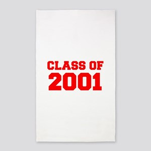 CLASS OF 2001-Fre red 300 Area Rug