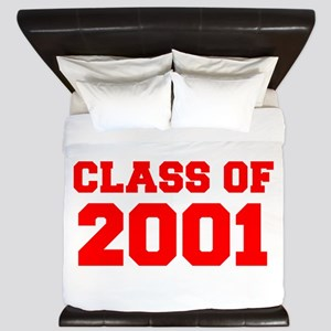 CLASS OF 2001-Fre red 300 King Duvet