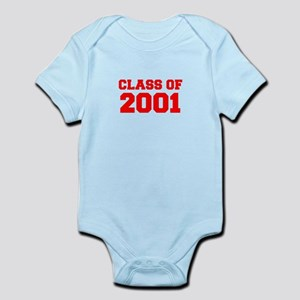 CLASS OF 2001-Fre red 300 Body Suit