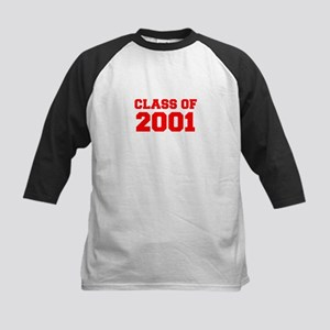 CLASS OF 2001-Fre red 300 Baseball Jersey