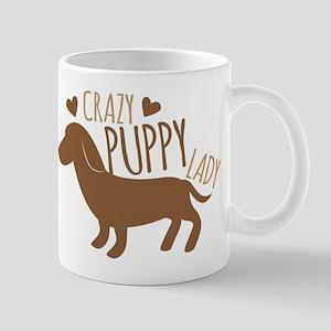 Crazy Puppy Lady Mugs