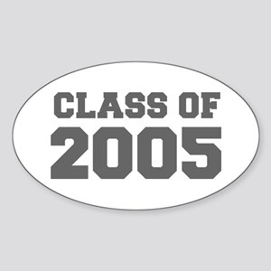 CLASS OF 2005-Fre gray 300 Sticker