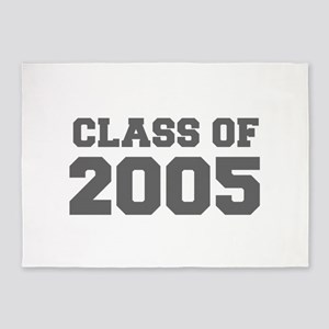 CLASS OF 2005-Fre gray 300 5'x7'Area Rug