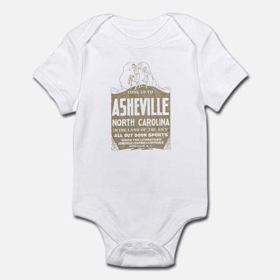 Vintage Asheville Infant Bodysuit