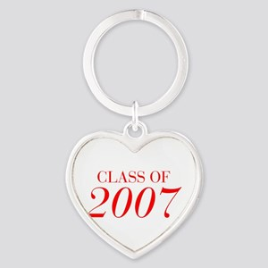 CLASS OF 2007-Bau red 501 Keychains