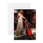 The Accolade & Dachshund Pair Greeting Cards (Pack