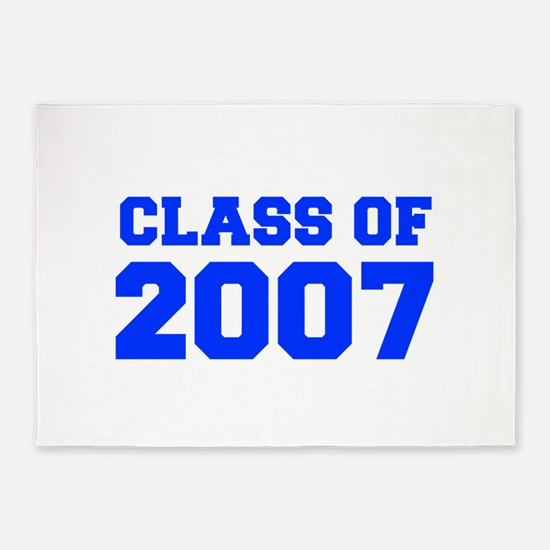 CLASS OF 2007-Fre blue 300 5'x7'Area Rug