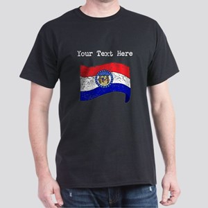 Missouri State Flag (Distressed) T-Shirt