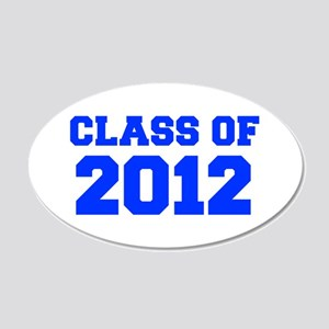CLASS OF 2012-Fre blue 300 Wall Decal