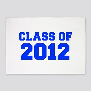 CLASS OF 2012-Fre blue 300 5'x7'Area Rug