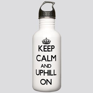 Keep Calm and Uphill O Stainless Water Bottle 1.0L