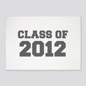 CLASS OF 2012-Fre gray 300 5'x7'Area Rug