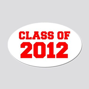 CLASS OF 2012-Fre red 300 Wall Decal