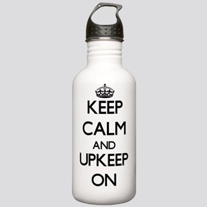 Keep Calm and Upkeep O Stainless Water Bottle 1.0L