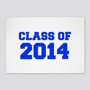 CLASS OF 2014-Fre blue 300 5'x7'Area Rug