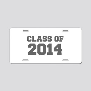 CLASS OF 2014-Fre gray 300 Aluminum License Plate