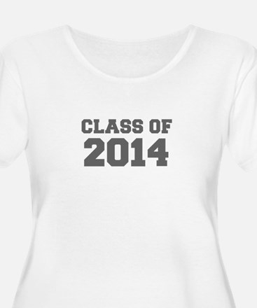 CLASS OF 2014-Fre gray 300 Plus Size T-Shirt
