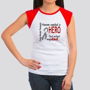 Brain Tumor HeavenNeed Junior's Cap Sleeve T-Shirt