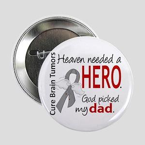 "Brain Tumor HeavenNeededHero1 2.25"" Button"