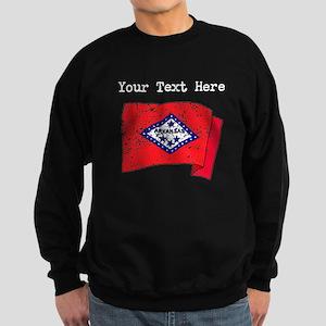 Arkansas State Flag (Distressed) Sweatshirt