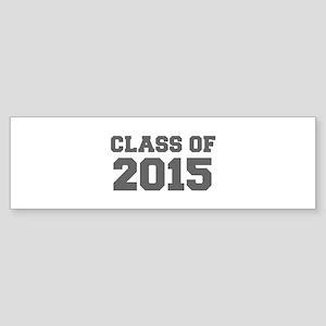 CLASS OF 2015-Fre gray 300 Bumper Sticker