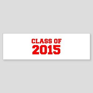 CLASS OF 2015-Fre red 300 Bumper Sticker