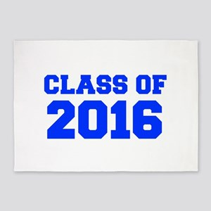 CLASS OF 2016-Fre blue 300 5'x7'Area Rug