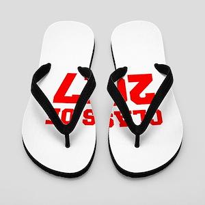 CLASS OF 2017-Fre red 300 Flip Flops