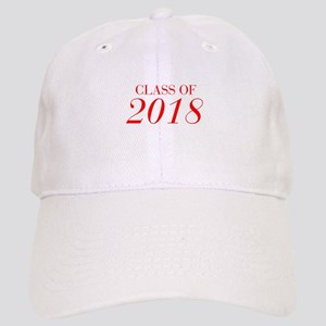 CLASS OF 2018-Bau red 501 Baseball Cap