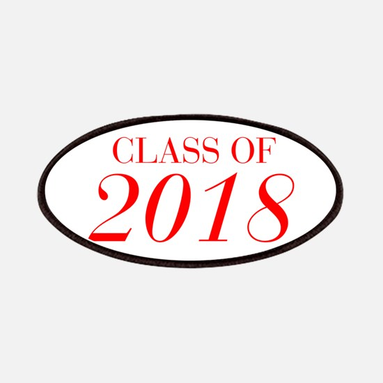 CLASS OF 2018-Bau red 501 Patch